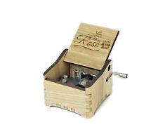 La Vien En Rose / Personalized Hand Crank Music Box
