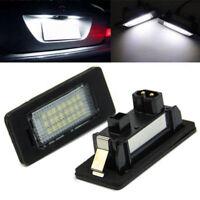 2pcs 24LED Error Free License Plate Light For BMW E92 E93 M3 E90 E70 E60 E39 F30