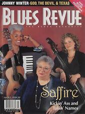 BLUES REVUE MAGAZINE - SAFFIRE - APR/MAY 2002