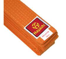 Hayashi Budo Rank Martial Arts Belt, Orange