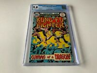 RICHARD DRAGON KUNG FU FIGHTER 1 CGC 9.8 WHITE PGS 1ST APPEARANCE DC COMICS 1975
