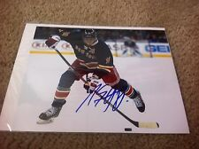 Marc Staal Autographed 8x10 Photo NY Rangers Sudbury Wolves Canada PROOF