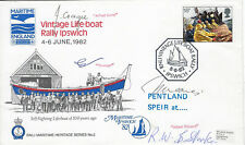 LIFEBOAT:RNLI Maritime Heritage no 2. 41  -Vintage Lifeboat Rally.IPSWICH-signed