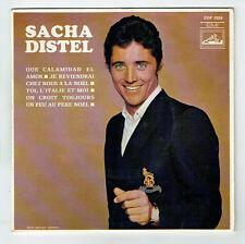 "Sacha DISTEL Vinyle 45T EP 7"" QUE CALAMIDAD EL AMOR -.. AU PERE NOËL 1024 RARE"