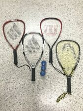 Racquetball Racquets (4) You! Buy them all for $65! - Used only a few times!