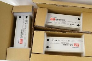 Lot of 3 MeanWell CLG-150-20C -150W 20V 7.5A LED Power Supply Driver  RRP£150