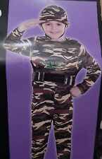 Totally Ghoul Army Commando Boys Costume M