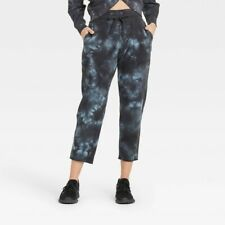New listing Joy Lab Womens Jogger Pants High Rise Ankle Tie Dye Black Onyx size Small NEW