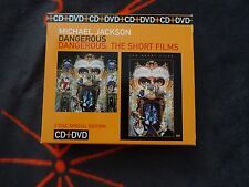 Michael Jackson Dangerous CD+DVD