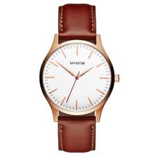 MVMT 40 Series Natural Leather Men's Slim Watch - Dmt01wbr