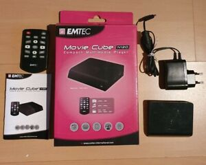 Movie Cube N120 Emtec, Compact Multimedia Player