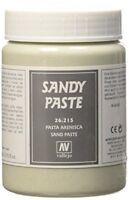 VALLEJO 26215 200ml Bottle Sandy Paste Earth Effect Texture Gel FREE SHIPPING