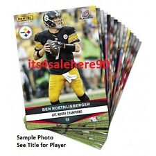2016 Panini Instant STEELERS Playoffs Exclusive - MAURKICE POUNCEY #521