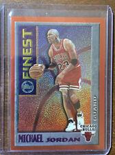 Michael Jordan 1995 96 Topps mystery finest #M1 Chicago Bulls