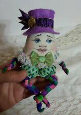 "*NEW* Cloth Art Doll (Paper) Pattern ""Humpty Dumpty Dandy"" By Paula Mcgee"