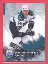 Jonathan Cheechoo 2007-08 Be A Player PLATINUM Player's Club (only 25 made)