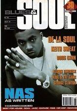 Nas Blues & Soul 1996   De La Soul  Kool & The Gang  George Clinton  Keith Sweat