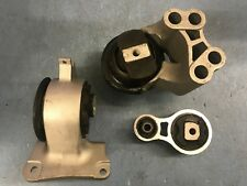 Hydraulic Motor & Trans Mount 3PCS for 10-12 Ford Fusion, Lincoln MKZ 3.5L 2WD