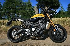 XSR900 (16-17) SP Engineering Carbon Fibre Stubby Domed GP Full Exhaust System