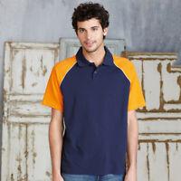 Kariban KB226 Mens Sports Wear Baseball Polo T-shirts Player Comfort Tshirt Top