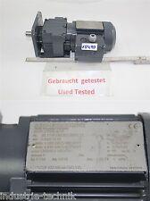 Sew 0,12 kw  60 min getriebemotor gearbox R07F DT56L4/TF