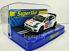 Slot car Scalextric Superslot H3633 Volkswagen Polo R #9 WRC Alemania 2014