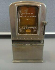 Vintage 1930's NAPCO BAR OR DESKTOP Cigarette Vending Machine