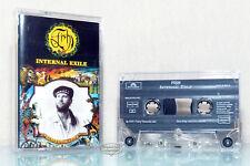 FISH - INTERNAL EXILE 1991  audio Kassette MC tape cassette VG Marillion