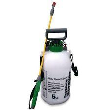 5LTR PRESSURE SPRAYER BOTTLE GARDEN WATER KNAPSACK CHEMICAL FENCE CAR SPRAY NEW