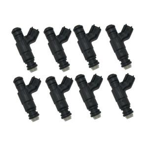 Set(8) 52lb 550cc Fuel Injectors for Dodge Chrysler Hemi 5.7L 6.1L 300C SRT8