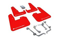 RALLY ARMOR for 08-14 IMPREZA STI /11-14 WRX HATCHBACK UR MUD FLAPS RED / WHITE