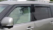 AVS Fits 03-08 Infiniti Fx35 Rain Guards Window Vent Visor 6 Pc Smoke 896001