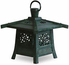 Toro Japanese Bronze Hanging Lantern Takaoka Craft Kasuga Motif Japan Small