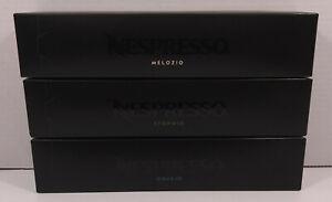 Nespresso Coffee Pods Melozio (10) Stormio (10) Odacio (10) EXP 12/31/21 Sealed
