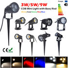 9W/5W/3W LED Lawn Garden Flood Light Yard Patio Path Spotlight Lamp Waterproof