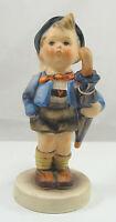 "Goebel Hummel Porcelain Figurine Home From Market 198 2/0 No Box 4.50"" TMK 4"
