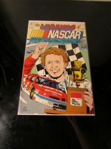Bill Elliott The Legends of NASCAR Vortex #1 Comic--red car~`~