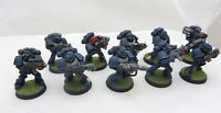 Warhammer 40K Space Marine Squad basic painted army lot