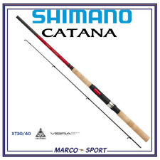 CANNA DA PESCA SHIMANO CATANA DX SPINNING ROD DX CARBONIO TROTA BLACK BASS LUCCI