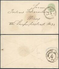 Austria - Postal stationery Vienna D17