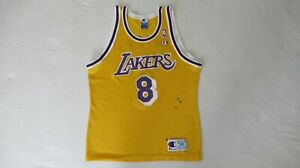 VINTAGE KOBE BRYANT LOS ANGELES LAKERS JERSEY BY CHAMPION