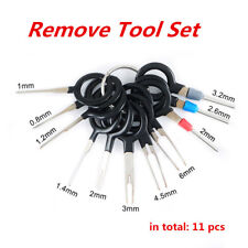 11pcs Car Plug Circuit Board Wire Harness Terminal Extractor Pick Connector Tool