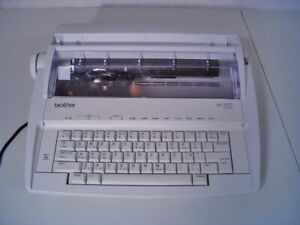 Brother Model ML100 Standard Electric Typewriter Tested & Working Well Excellent