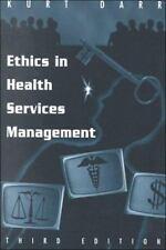 Ethics in Health Services Management, Darr, Kurt, Good Book