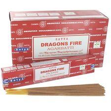 Dragon's Fire Incense Sticks - Satya Ayurvedic Range