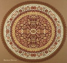 """22"""" DECORATIVE TAPESTRY TABLE RUNNER Brown Ornament PLACE MAT EURO ACCENT"""