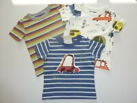 NEXT 3 Cute Little Boys Vehicle T-Shirts NWT
