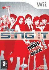 Disney Sing IT High School Musical Social Games - Wii