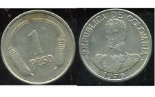 COLOMBIE 1 peso  1976  ( bis )