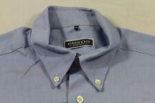 E7441 Eterna Excellent Businesshemd Kurzarm 40 Blau Weiß Meliert Unifarben Neuwe
